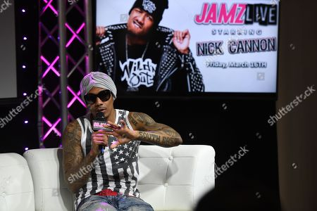 Editorial Photo Of Nick Cannon At 99 JAMZ Radio Station Fort Lauderdale
