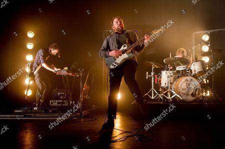 Frightened Rabbit - Simon Liddell, Scott Hutchison and Grant Hutchison