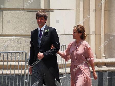 Editorial photo of Wedding of  Prince Christian of Hanover and Alessandra de Osma, Lima, Peru - 16 Mar 2018