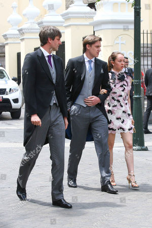 Prince Ernst August of Hanover, Princess Alexandra of Hanover and Ben-Sylvester Strautmann