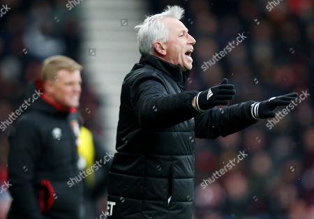 West Bromwich Albion Manager Alan Pardew.