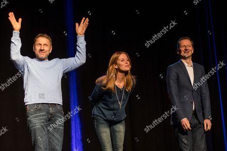 ,Richy Müller, Esther Schweins and Michael Kessler