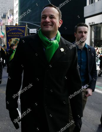 Editorial picture of 2018 St. Patrick's Day Parade New York City, USA - 17 Mar 2018