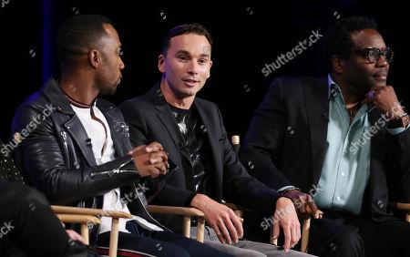 J. Lee, Mark Jackson and Chad L. Coleman