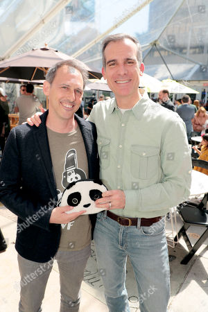 Drew Fellman, Director/Writer/Producer, Eric Garcetti, Mayor of Los Angeles,