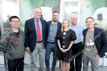 Stock Photo of Wen Lei Bi, Ben Kilham, PhD, Jacob Owens, PhD, Kristen Bell, David Douglas, Director/Cinematographer, Drew Fellman, Director/Writer/Producer,