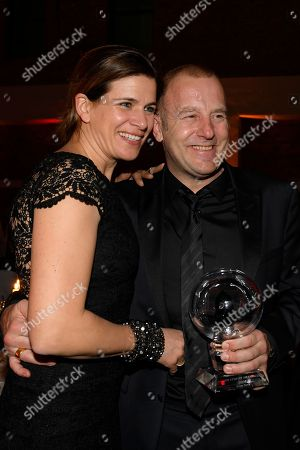 Stock Photo of Marie-Jeanette and Heino Ferch