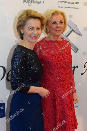 Ursula of der Leyen and Liz Mohn