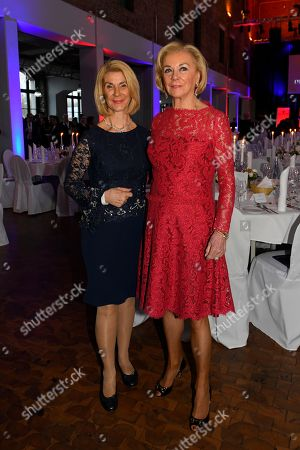 Brigitte Mohn and Liz Mohn