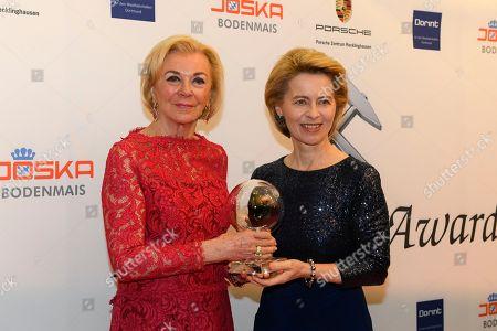 Liz Mohn and Ursula of der Leyen