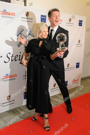 Ina Müller and Steffen Hallaschka