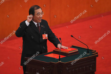 Editorial image of Politics, Beijing, China - 18 Mar 2018