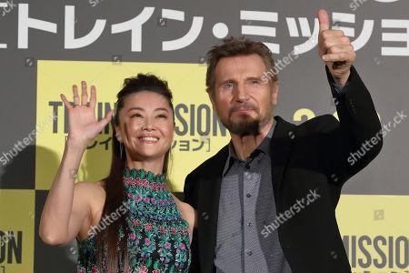 Alisa Mizuki, Liam Neeson