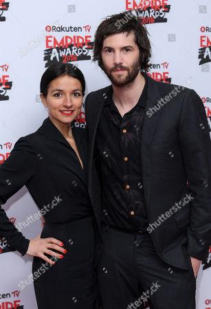 Stock Image of Jim Sturgess and Dina Mousawi