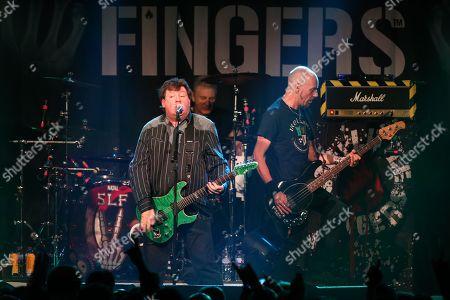 Stiff Little Fingers - Jake Burns, Steve Grantley and Ali McMordie
