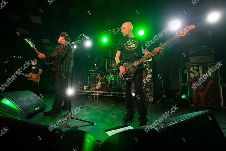 Stiff Little Fingers - Ian McCallum, Jake Burns, Steve Grantley and Ali McMordie