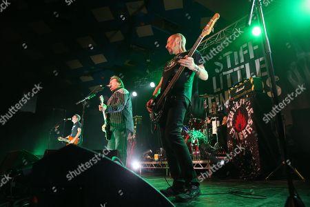Stiff Little Fingers - Ian McCallum, Jake Burns, Ali McMordie and Steve Grantley
