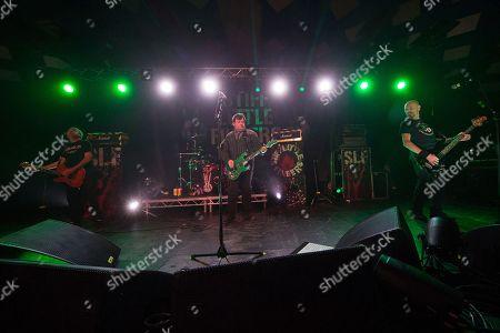 Stiff Little Fingers - Ian McCallum, Jake Burns and Ali McMordie