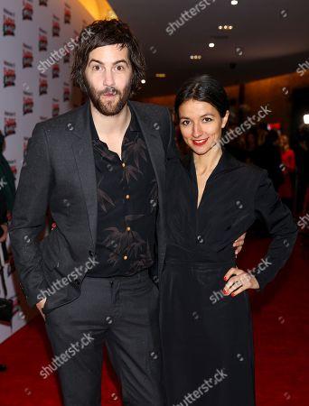 Stock Photo of Jim Sturgess and Dina Mousawi