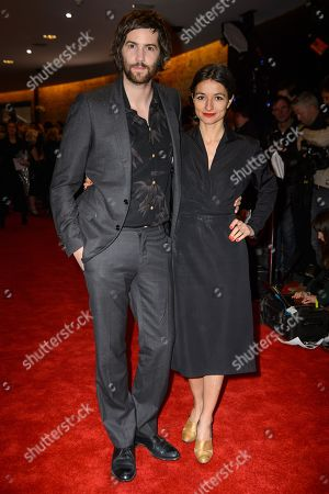 Stock Picture of Jim Sturgess and Dina Mousawi