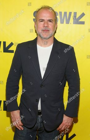 """Producer Jeremy Dawson arrives for the north american premiere of """"Isle of Dogs"""" at the Paramount Theatre during the South by Southwest Film Festival, in Austin, Texas"""