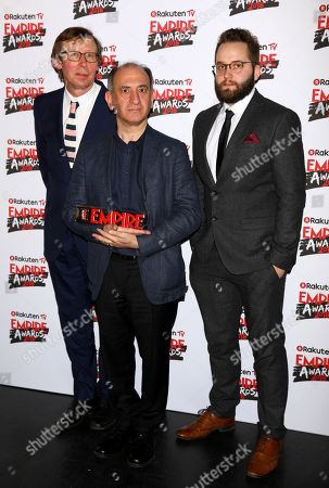 Kevin Loader, Armando Iannucci and Peter Fellows - Best Comedy Award - 'Death of Stalin'