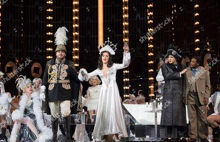 Editorial photo of 'La Traviata' Opera performed by English National Opera at the London Coliseum, UK, 14 Mar 2018