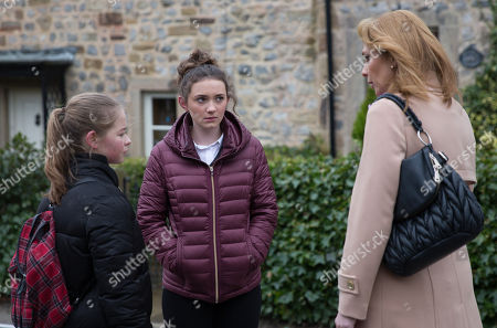 Ep 8101 Wednesday 21 March 2018  After a run in with Bernice Blackstock, as played by Samantha Giles, whilst talking to Gabby Thomas, as played by Rosie Bentham,, Liv, as played by Isobel Steele, goes in search of booze.