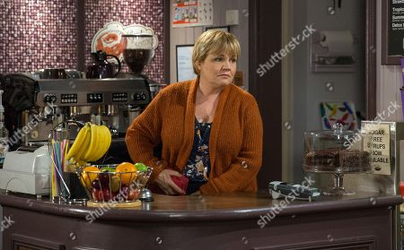 Ep 8112 Tuesday 3rd April 2018  Arthur Thomas, as played by Alfie Clarke, arrives and gives Brenda Hope, as played by Lesley Dunlop, Bob Hope's, as played by Tony Audenshaw, jacket, explaining he left it at theirs? How will poor Brenda react when she realises he's been with Laurel Thomas, as played by Charlotte Bellamy ? Later, opportunity strikes when Laurel leaves her wallet on a table and Brenda pockets it. Brenda has revenge on her mind, will Laurel be left out of pocket?