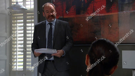 Ep 8109 Thursday 29 March 2018 - 2nd Ep Jimmy King's, as played by Nick Miles, troubled by what Joe Tate, as played by Ned Porteous, tells him