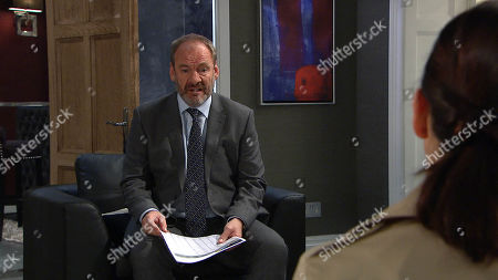Ep 8109 Thursday 29 March 2018 - 2nd Ep Jimmy King's, as played by Nick Miles, troubled by what Joe Tate, tells him