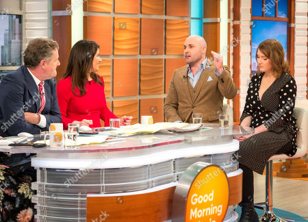 Piers Morgan and Susanna Reid with Sir David Richards and Ella Whelan