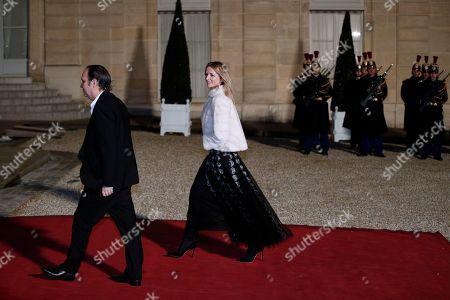 Xavier Niel and Delphine Arnault