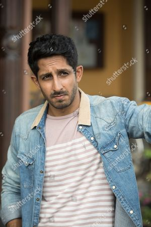 Stock Image of Sagar Radia as AJ Nair