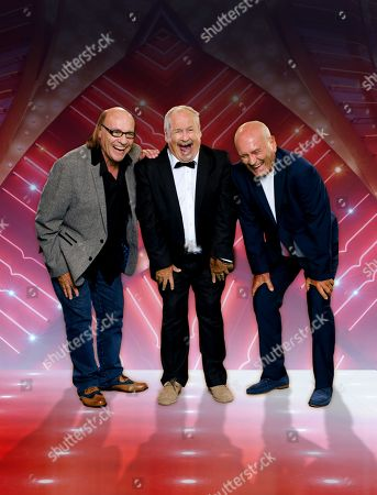 Mick Miller and Cannon & Ball [Bobby Ball & Tommy Cannon].