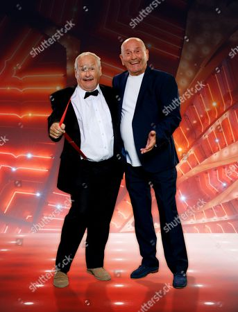 Cannon & Ball - Bobby Ball and Tommy Cannon.