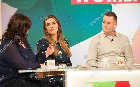 Stock Image of Coleen Nolan, Kelly Brook, Ralph Bulger