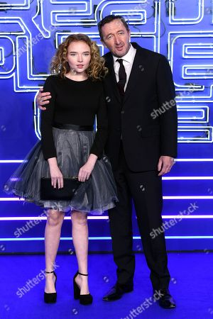 Ralph Ineson and Becky Ineson