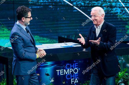 Fabio Fazio, Soccer Coach Giovanni Trapattoni