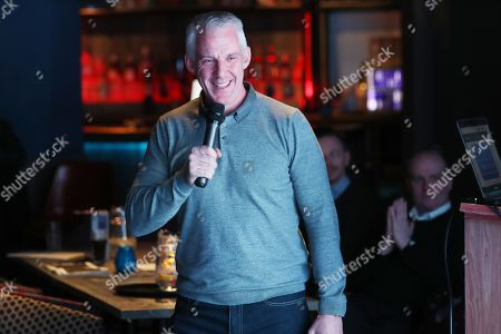 Former referee Chris Foy at the Fans Forum