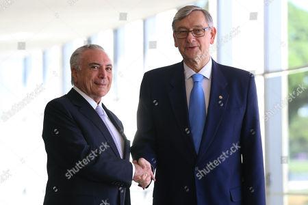 Michel Temer and Danilo Turk