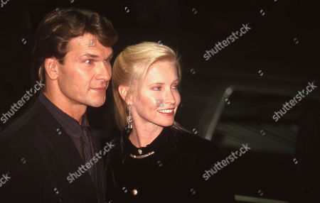 Stock Picture of Patrick Swayze and Lisa Niemi