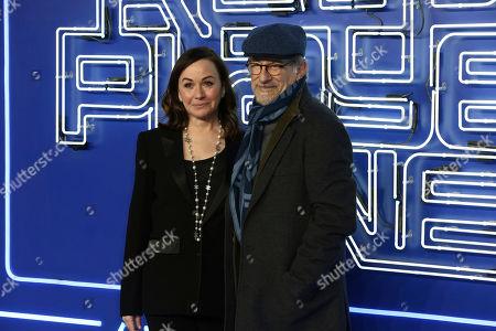 Kristie Macosko Krieger and Steven Spielberg