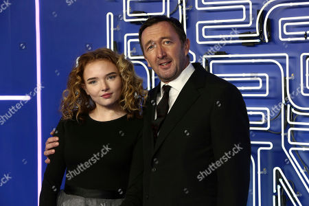 Ralph Ineson and daughter Becky Ineson