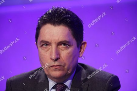 Stock Photo of Olivier Cadic, Senator of the French living abroad