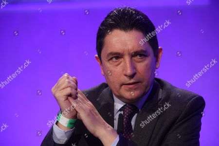 Stock Picture of Olivier Cadic, Senator of the French living abroad