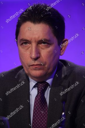 Stock Image of Olivier Cadic, Senator of the French living abroad
