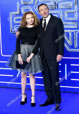 Becky Ineson and Ralph Ineson