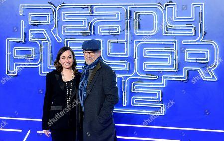 Steven Spielberg and Kristie Macosko Krieger