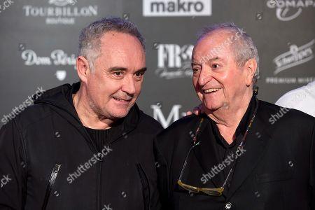 Ferran Adria, Juan Mari Arzak